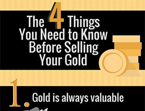 4 things you need to know before selling gold graphic