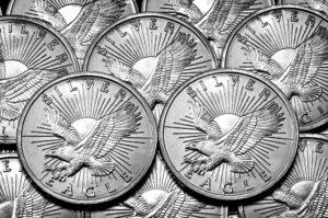 eagle silver dollar coins