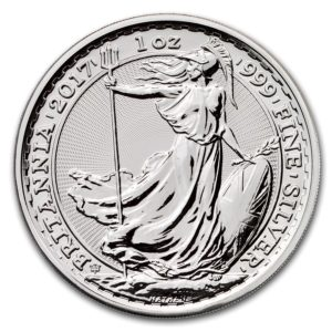 2017 Great Britain Silver Britannia Coins