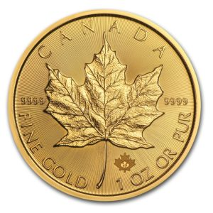 Canada Gold Maple Leaf BU